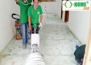 Dịch vụ đánh bóng sàn đá Granite đá Hoa Cương-homepro