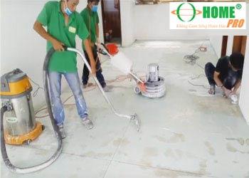 Dịch vụ đánh bóng sàn đá mài, đá rửa (sàn Terrazzo, Granito)-homepro