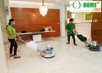 Dịch vụ đánh bóng sàn đá Marble-homepro
