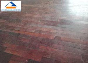 giá dịch vụ đánh bóng sàn gỗ-công-nghệ-làm-sạch