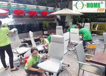 Dịch vụ giặt ghế văn phòng-homepro