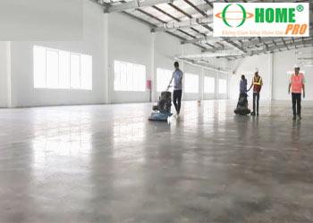 Dịch vụ mài đánh bóng sàn (nền) bê tông-homepro
