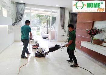 Bảng giá vệ sinh công nghiệp sau xây dựng-homepro