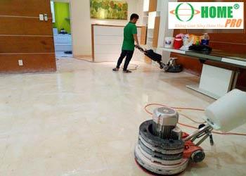 Bảng giá dịch vụ đánh bóng sàn đá Marble-homepro