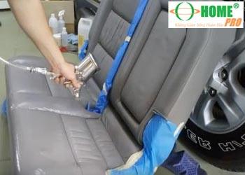 Bảng giá dịch vụ sơn mới, sơn đổi màu ghế da xe hơi (xe ô tô)-homepro