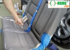 Dịch vụ sơn phục hồi màu ghế da xe hơi (xe ô tô)-homepro