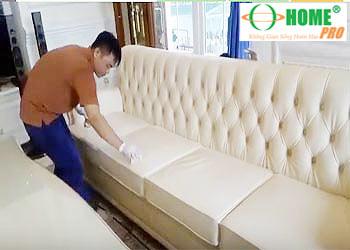 Dịch vụ sơn phục hồi màu ghế Sofa da, Salon da-homepro