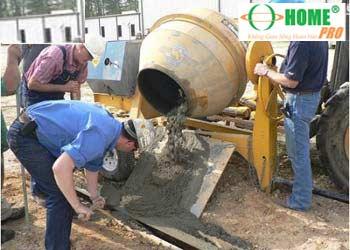 Công thức trộn Bê tông theo đúng Mác Bê tông-homepro