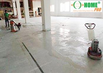 Dịch vụ chà sàn vệ sinh sàn nhà xưởng-homepro