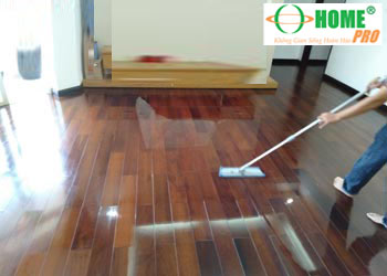 Dịch vụ đánh bóng sàn gỗ tự nhiên-homepro