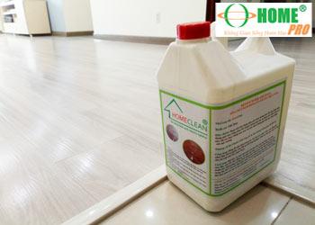 Dịch vụ phủ bóng sàn nhựa vinyl-homepro