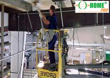 Dịch vụ quét mạng nhện nhà xưởng-homepro