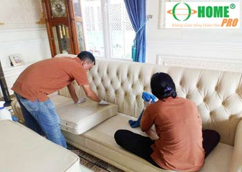 Dịch vụ sửa chữa, sơn ghế Sofa da ghế Salon da tại nhà-homepro