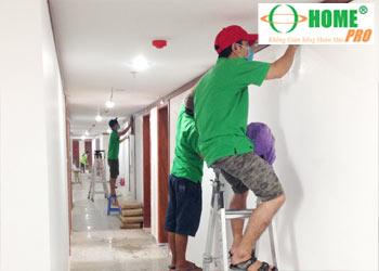 Dịch vụ tổng vệ sinh chung cư sau xây dựng-homepro