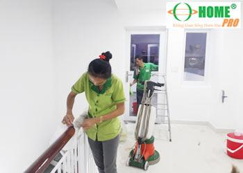 Dịch vụ tổng vệ sinh nhà ở sau xây dựng-homepro