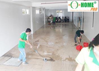 Dịch vụ tổng vệ sinh nhà xưởng sau xây dựng-homepro