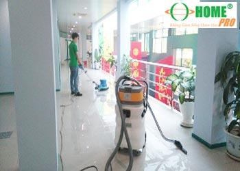 Dịch vụ tổng vệ sinh tòa nhà sau xây dựng-homepro