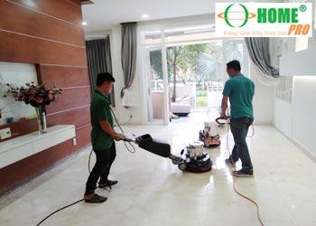 Dịch vụ vệ sinh công nghiệp sau xây dựng-homepro