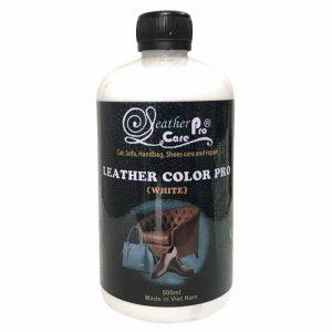 Màu sơn ghế Sofa da, ghế da xe hơi (ô tô) da, túi xách da - Leather Color Pro (White)leather-color-pro-white_1000x1000