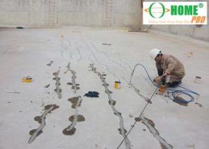 Một số nguyên nhân gây ra nứt sàn (nền) Bê tông-homepro
