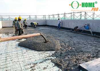 Quy trình đổ sàn (nền) Bê tông-homepro
