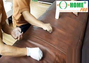 Mức giá nhuộm sơn ghế da Sofa, ghế da Salon-homepro