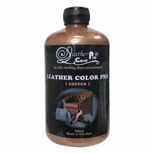 Màu sơn ghế da xe ô tô, túi xách da, giày da - Leather Color Pro (Copper)_Copper Emulsion_1000x1000