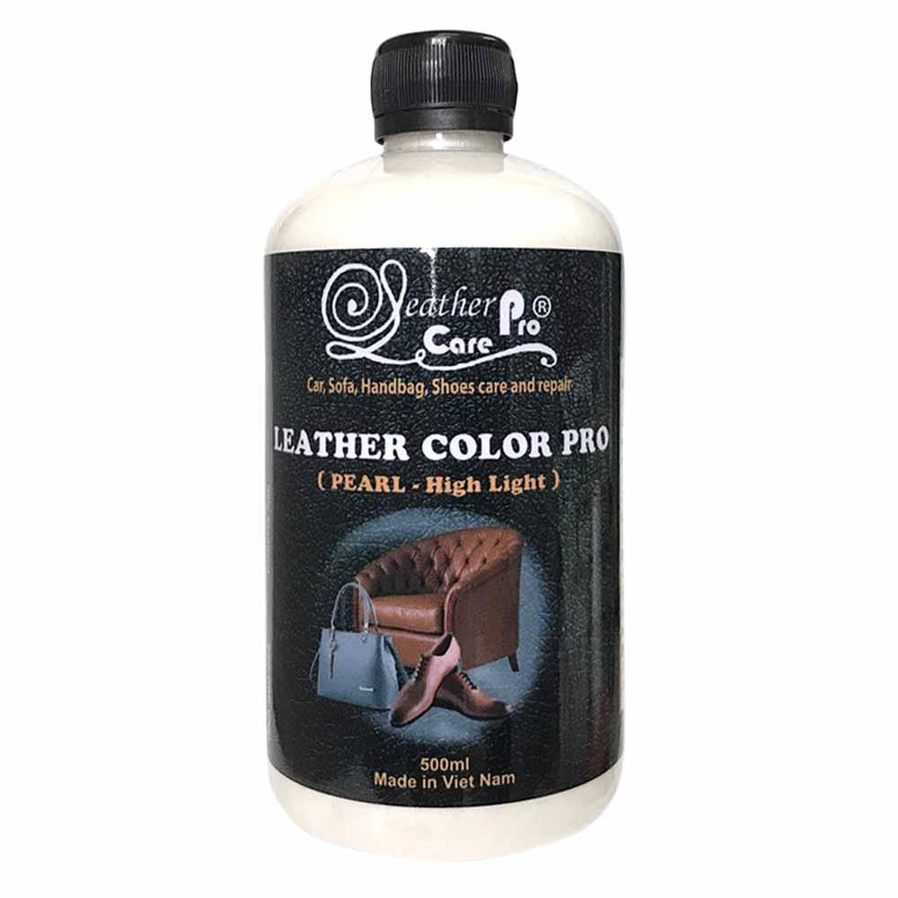 Màu sơn túi xách da, ghế Sofa da, giày da, ghế da xe hơi – Leather Color Pro (Pearl – High light)