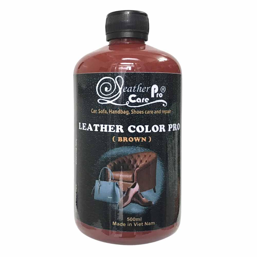 Màu sơn túi xách da, ghế Sofa da – Leather Color Pro (Dark Brown)