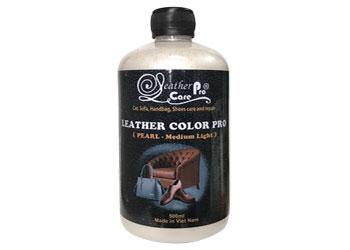 Màu sơn chuyên dụng dành cho ghế da xe ô tô, ghế da xe hơi cao cấp - Leather Color Pro (Pearl -Medium Light)- Leather Color Pro (Pearl -Medium Light)