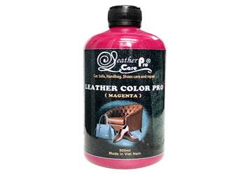 Màu sơn dành cho ghế da xe ô tô, ghế da xe hơi - Leather Color Pro (Magenta)_Magenta_350x250