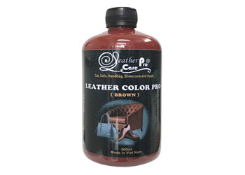 Màu sơn ghế da xe ô tô, xe hơi cao cấp - Leather Color Pro (Brown)_Leather Care Pro_Brown_350x250