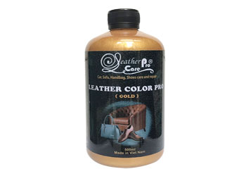 Màu sơn giày da - Leather Color Pro (Gold Emulsion)_Leather Color Pro_Gold_350x250