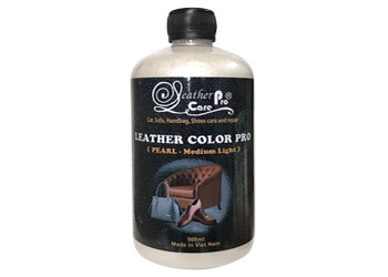 Màu sơn giày thể thao - Leather Color Pro (Pearl -Medium Light)